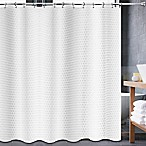 Avalon 70-Inch x 84-Inch Shower Curtain in White