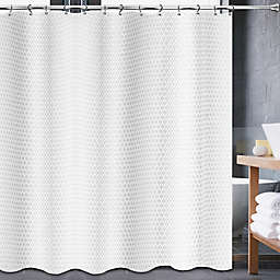 Avalon Shower Curtain in White