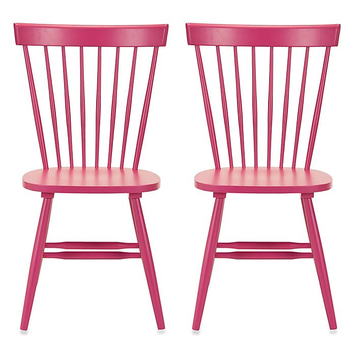 Alternate image 1 for Safavieh Parker Spindle Side Chairs (Set of 2)