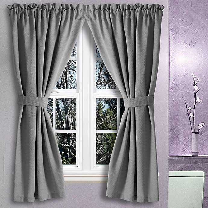 Alternate image 1 for Avalon 36-Inch x 45-Inch Bath Window Curtain Pair
