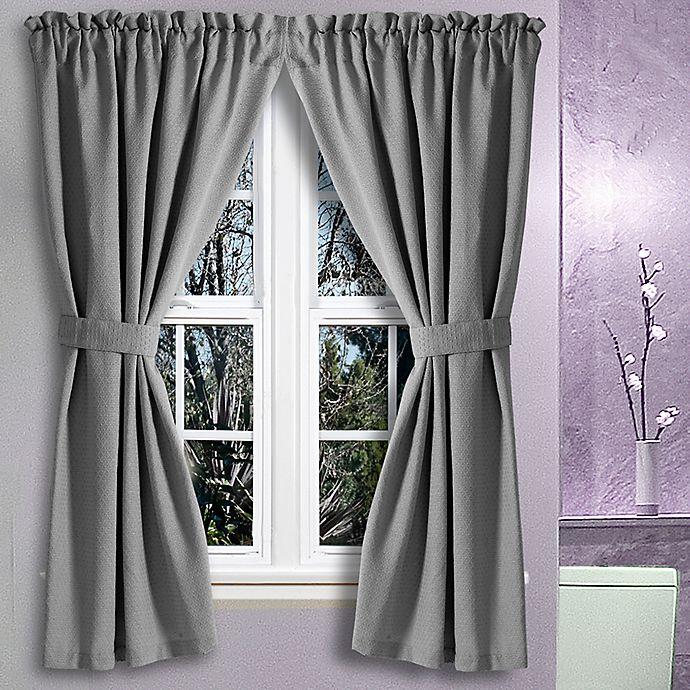 Avalon 36 inch x 45 inch bath window curtain pair bed bath and beyond canada for 36 inch bathroom window curtains