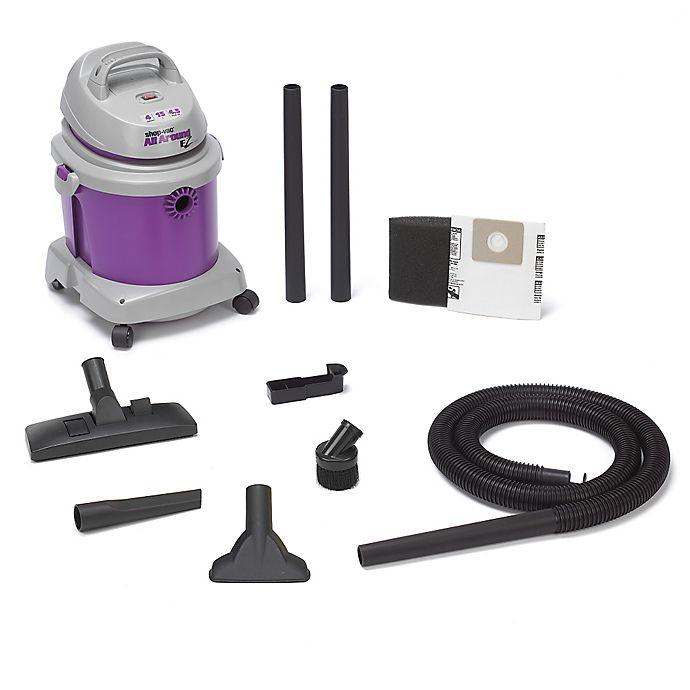 Alternate image 1 for Shop-Vac® 5895400 4.5-Gallon 4.5 Peak HP All Around EZ Series Wet/Dry Vacuum in Purple