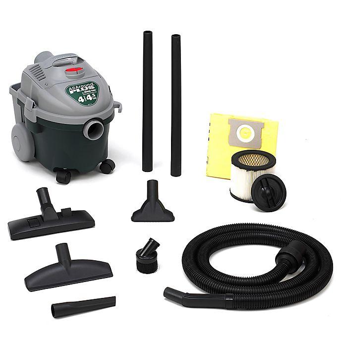 Alternate image 1 for Shop-Vac® 58704004 4-Gallon 4.5 Peak HP All Around Plus Wet/Dry Vacuum in Green