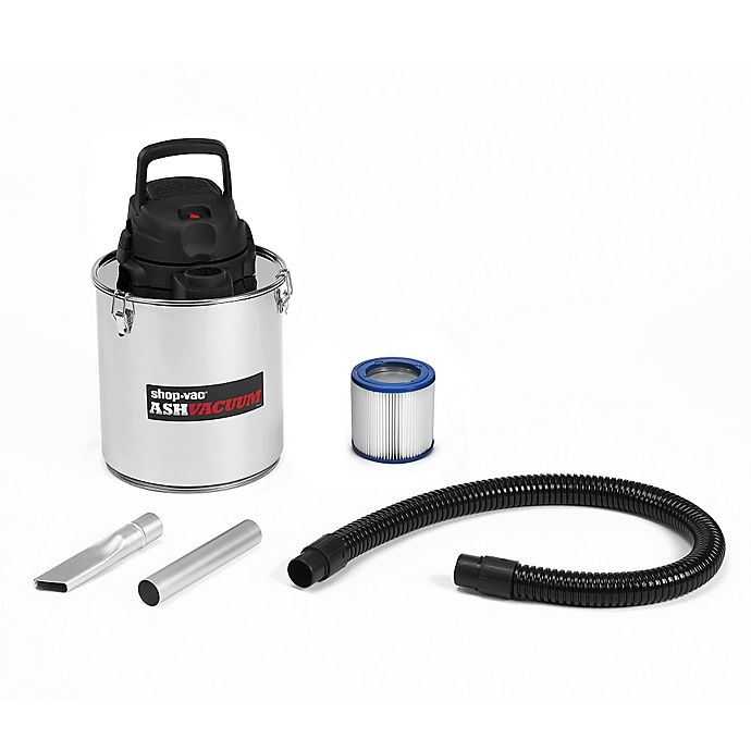 Alternate image 1 for Shop-Vac® 4041300 5-Gallon Ash Vacuum in Stainless Steel