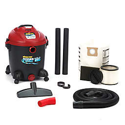 Shop-Vac® 12-Gallon 5.0 Peak HP Wet/Dry Pump Vacuum in Black/Red