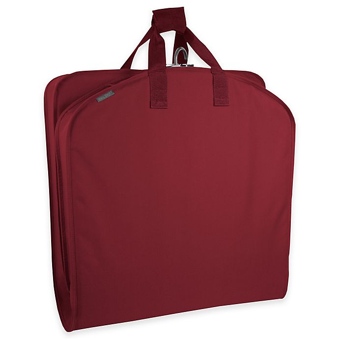 40 Inch Suit Length Garment Bag In Red