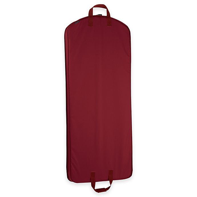Alternate image 1 for WallyBags® 52-Inch Dress Length Garment Bag in Red