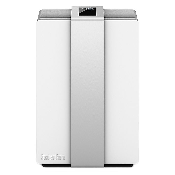 Alternate image 1 for Swizz Style Stadler Form® Robert Air Purifier (Air Washer) Cool-Mist Humidifier in White/Silver