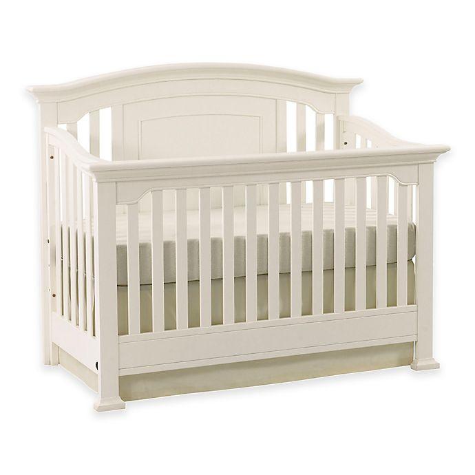 Alternate image 1 for Kingsley Brunswick 4-in-1 Convertible Crib in White