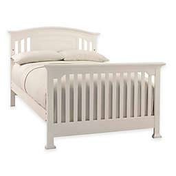 Kingsley Brunswick Full Size Bed Rails in White
