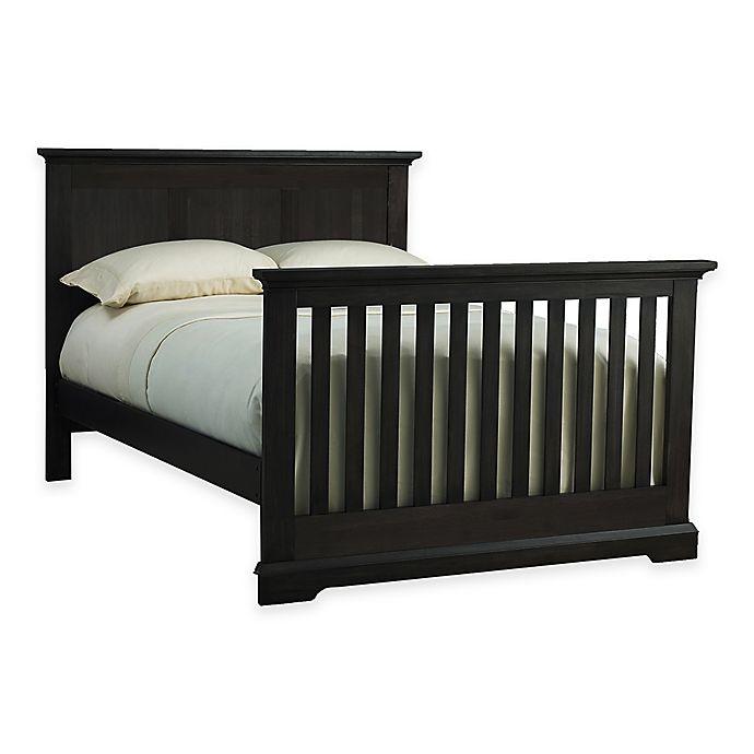 Kingsley Jackson Full Size Bed Rails in Slate | Bed Bath & Beyond