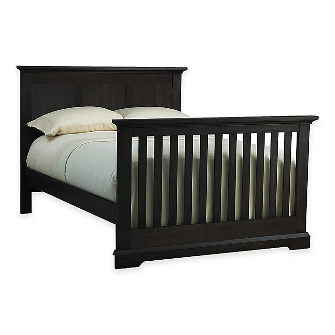 Alternate image 1 for Kingsley Jackson Full Size Bed Rails in Slate