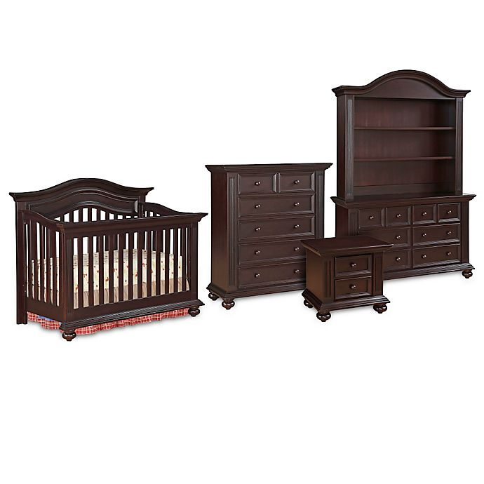 Kingsley Keyport Nursery Furniture Collection In Espresso