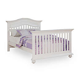 Kingsley Keyport Full Size Bed Rails in White