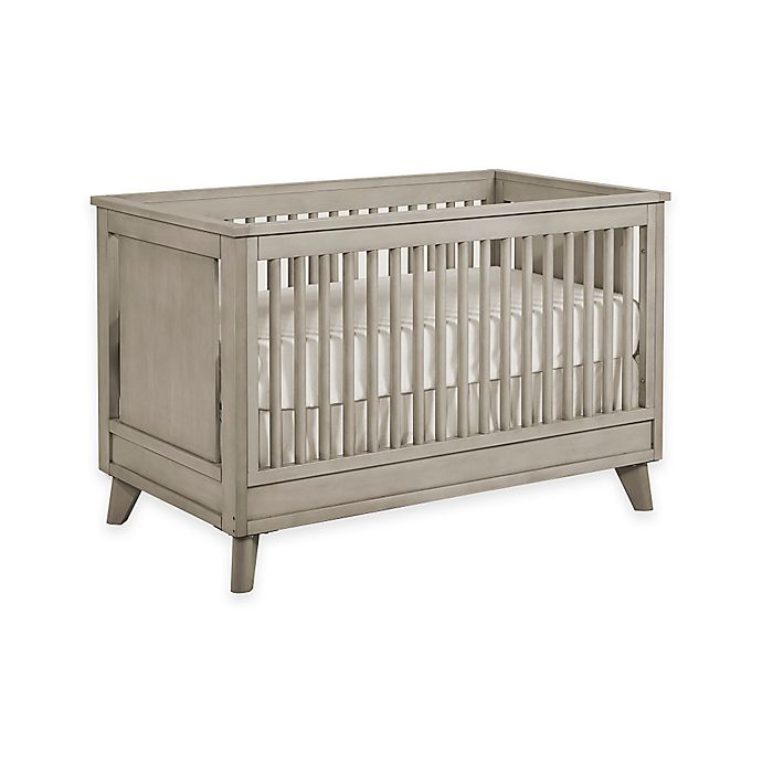 Alternate image 1 for Kingsley Wyndham 3-in-1 Convertible Crib in Ash Grey