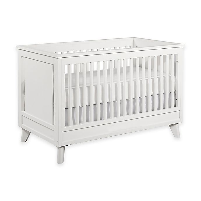 Alternate image 1 for Kingsley Wyndham 3-in-1 Convertible Crib in White