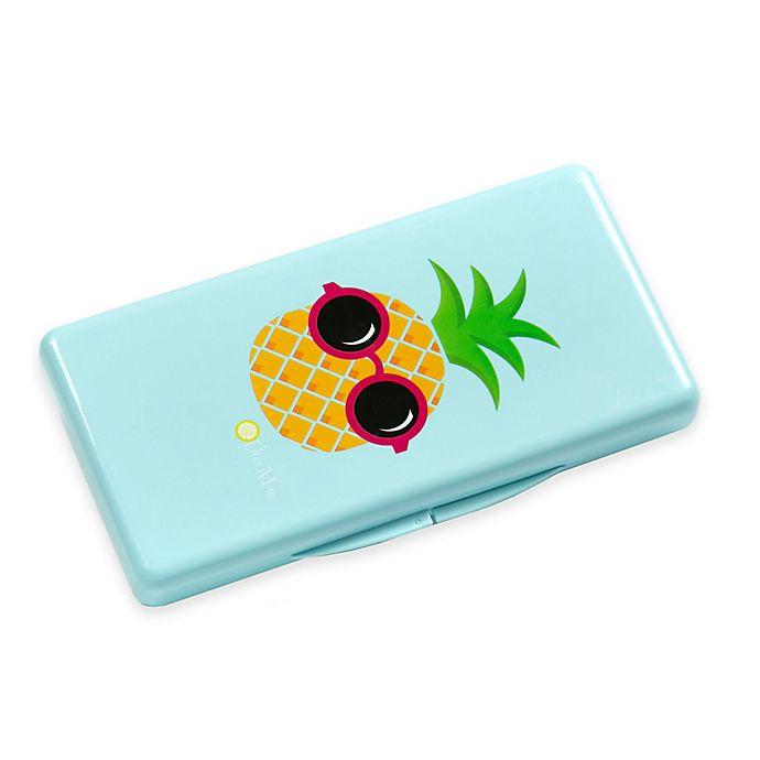 Alternate image 1 for Uber Mom Pineapple Wipebox in Blue