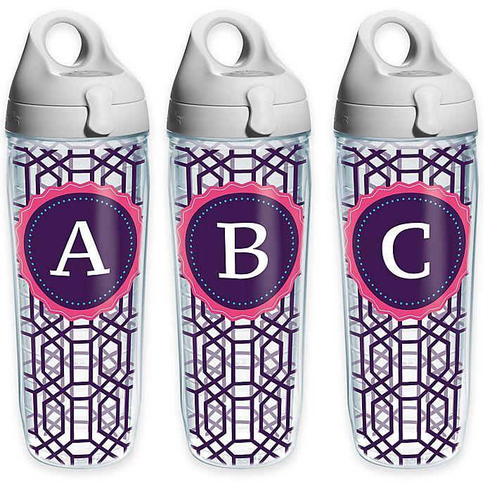 d18a76f11bd Tervis® Octagon Monogram Initial 24 oz. Water Bottle | Bed Bath & Beyond
