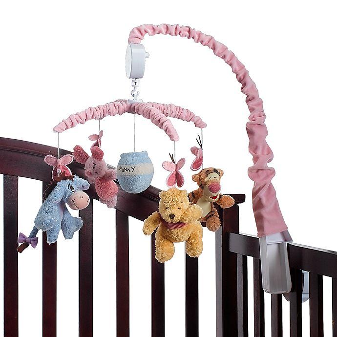 Nursery Décor Disney Classic Winnie Pooh Baby Crib Musical ...