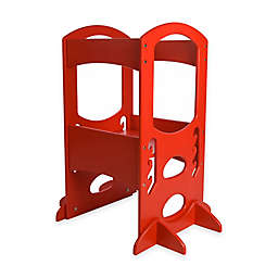 Little Partners Original Learning Tower Step Stool in Red
