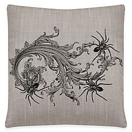 Heritage Lace® Gothic Spider Square Throw Pillow