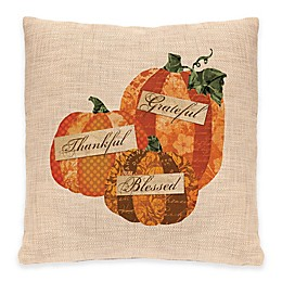 Heritage Lace® Patchwork Pumpkin Square Throw Pillow