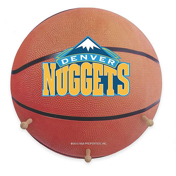 Denver Nuggets Team Store: Buy NBA Denver Nuggets Team Logo Basketball Coat Rack From