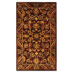Safavieh Antiquities 5-Foot x 8-Foot Wool Rug in Red