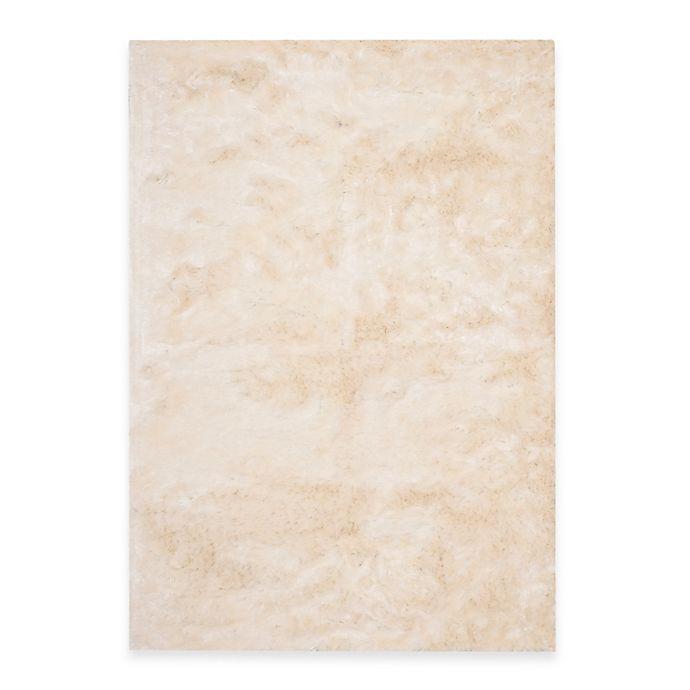 Alternate image 1 for Safavieh Paris Shag Rug in Ivory
