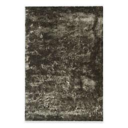 Safavieh Paris 5-Foot x 7-Foot Shag Rug in Titanium