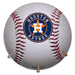 MLB Houston Astros Team Logo Baseball Coat Rack