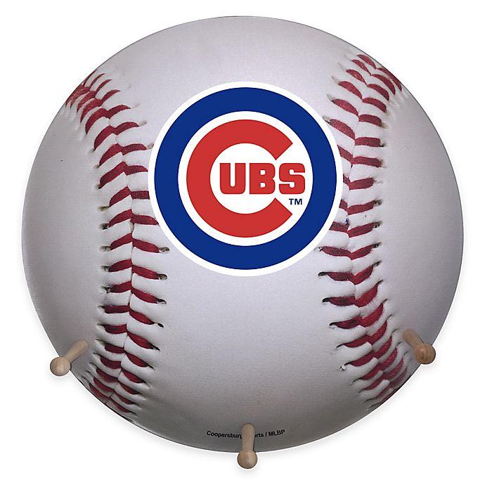 Mlb Chicago Cubs Team Logo Baseball Coat Rack Bed Bath