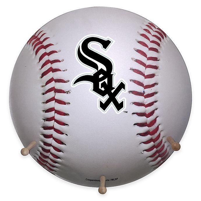 Alternate image 1 for MLB Chicago White Sox Team Logo Baseball Coat Rack