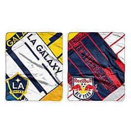 MLS Super-Plush Raschel Throw Blanket