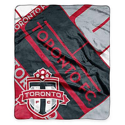 MLS Toronto FC Super-Plush Raschel Throw Blanket