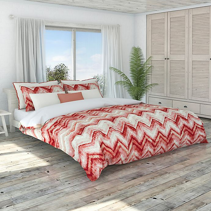 Alternate image 1 for Colorfly™ Germain Full/Queen Duvet Cover Set in Coral Haze