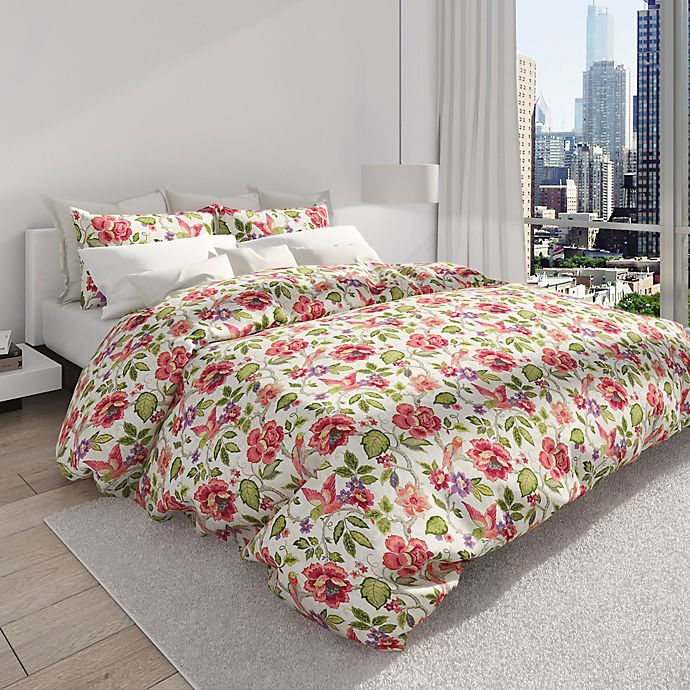 Alternate image 1 for Colorfly™ Tess Full/Queen Duvet Cover Set in Orchid