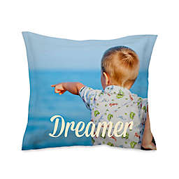 Microfiber Photo European Pillow Sham