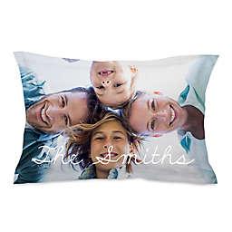 Microfiber Photo Standard Pillow Sham
