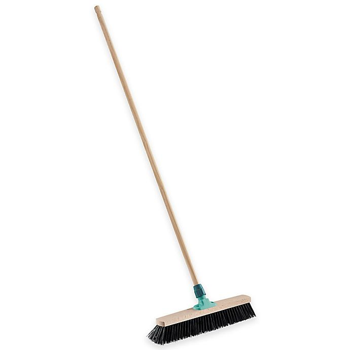 Alternate image 1 for Household Essentials® Xtra Clean Outdoor Broom in Aqua
