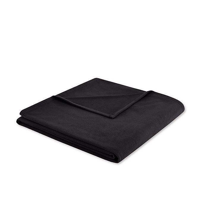 Alternate image 1 for 3M Scotchgard Peak Performance Microfleece Full/Queen Blanket in Black