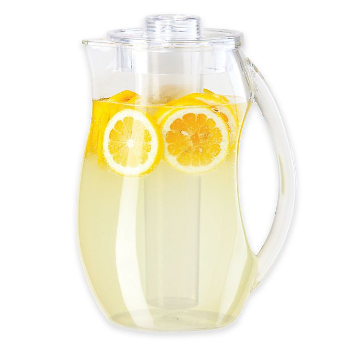 Alternate image 1 for Oggi™ Acrylic Pitcher with Ice and Infusion Tubes