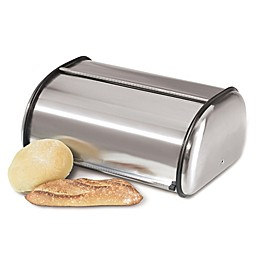 Oggi™ Stainless Steel Roll Top Bread Box