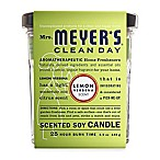 Mrs. Meyer's® Clean Day Lemon Verbena Small Jar Candle
