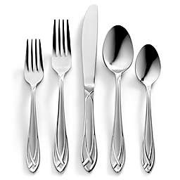 Hampton Forge® Signature Lace Frosted 54-Piece Flatware Set with Caddy
