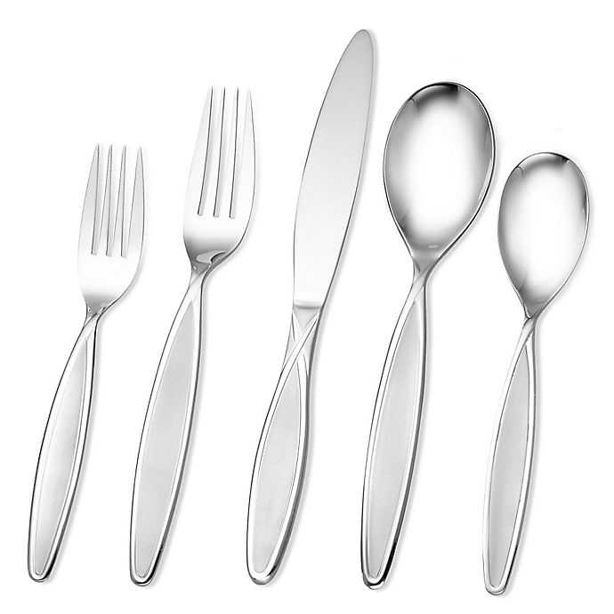 Alternate image 1 for Hampton Forge Signature Elsa Frosted 20-Piece Flatware Set