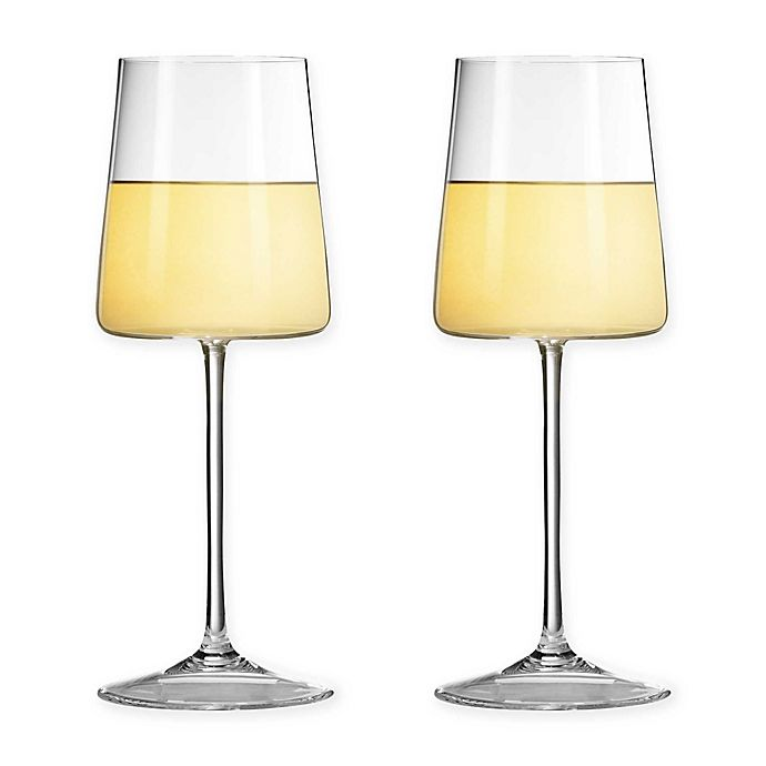 Alternate image 1 for Vera Wang Wedgwood® Metropolitan Wine Glasses (Set of 2)