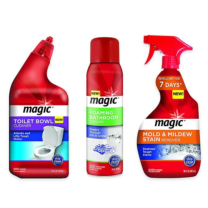 Magic Bathroom Cleaning Solutions Bed Bath Beyond