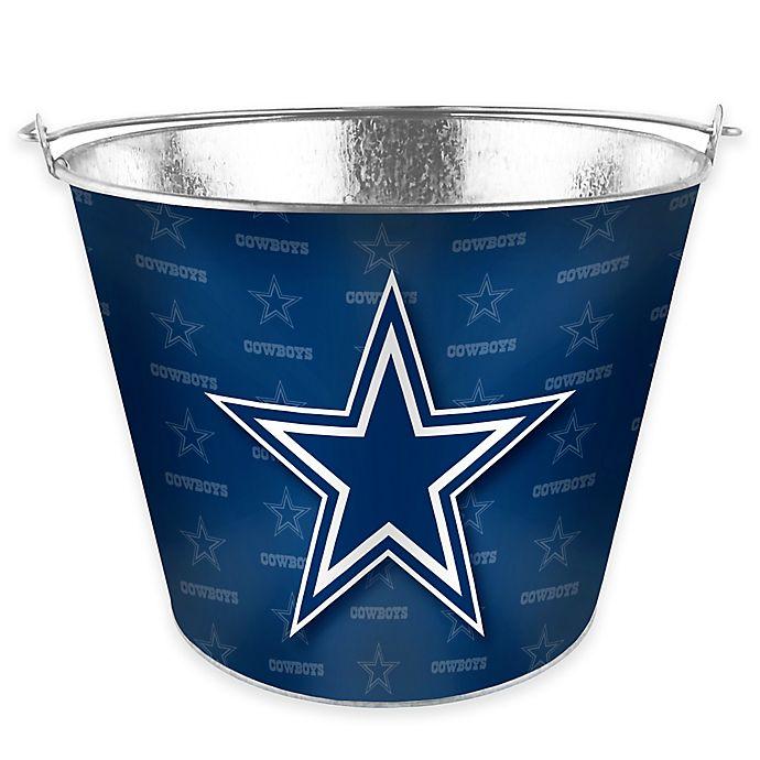NFL Dallas Cowboys Metal Ice Bucket  fe4dafc66