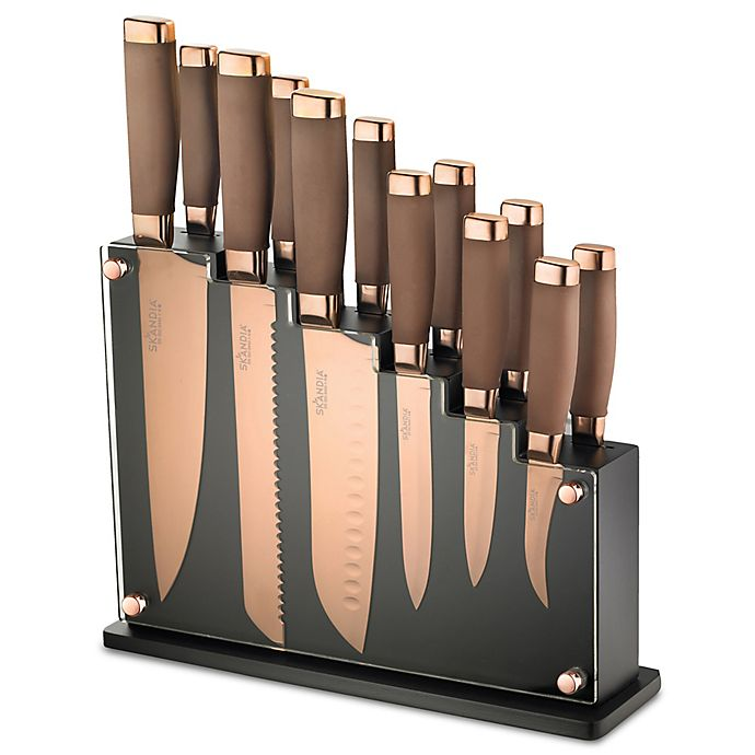 Alternate image 1 for Skandia  Forte 13-Piece Cutlery Block Set